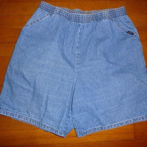 Perfect Vintage Chic Jeans Shorts - 16 average